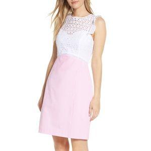 Lilly Pulitzer Maya Shift Dress Pink Tropics SZ 12